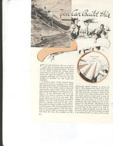 Vintage Canoe Plans