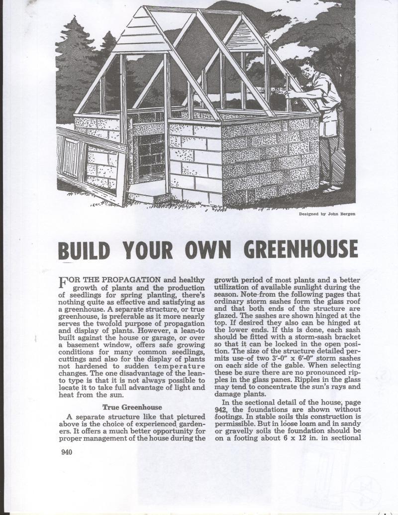 greenhouse work bench plans